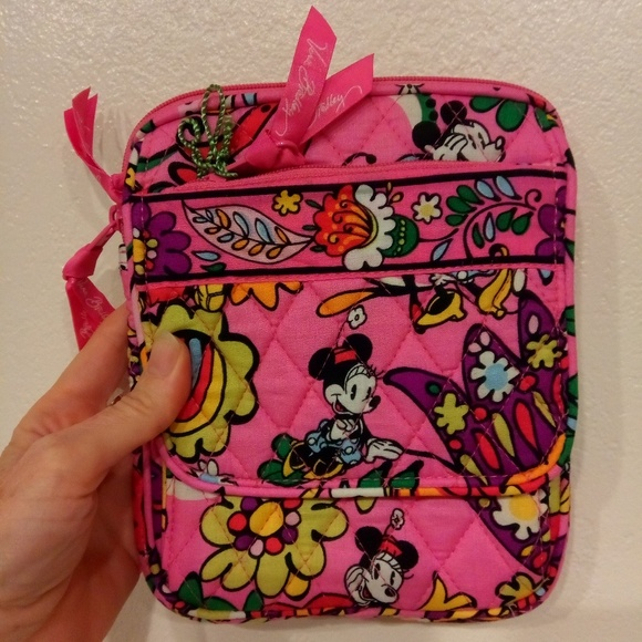 Mickey Minnie Disney Vera Bradley Mini Hipster 08730a9cedc4a